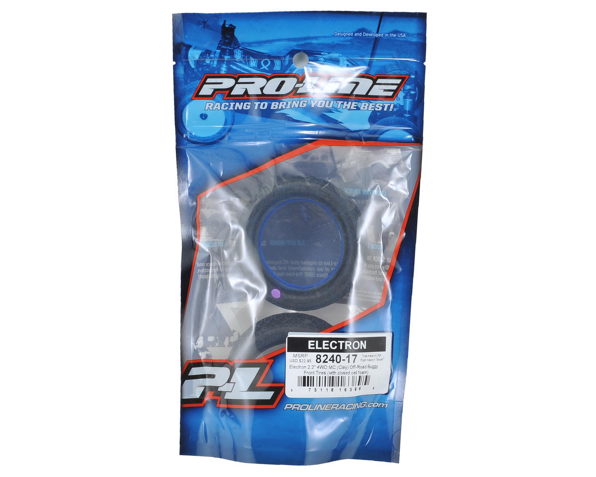 "Pro-Line Electron 2.2"" 4WD Buggy Front Tires (2) (MC)"