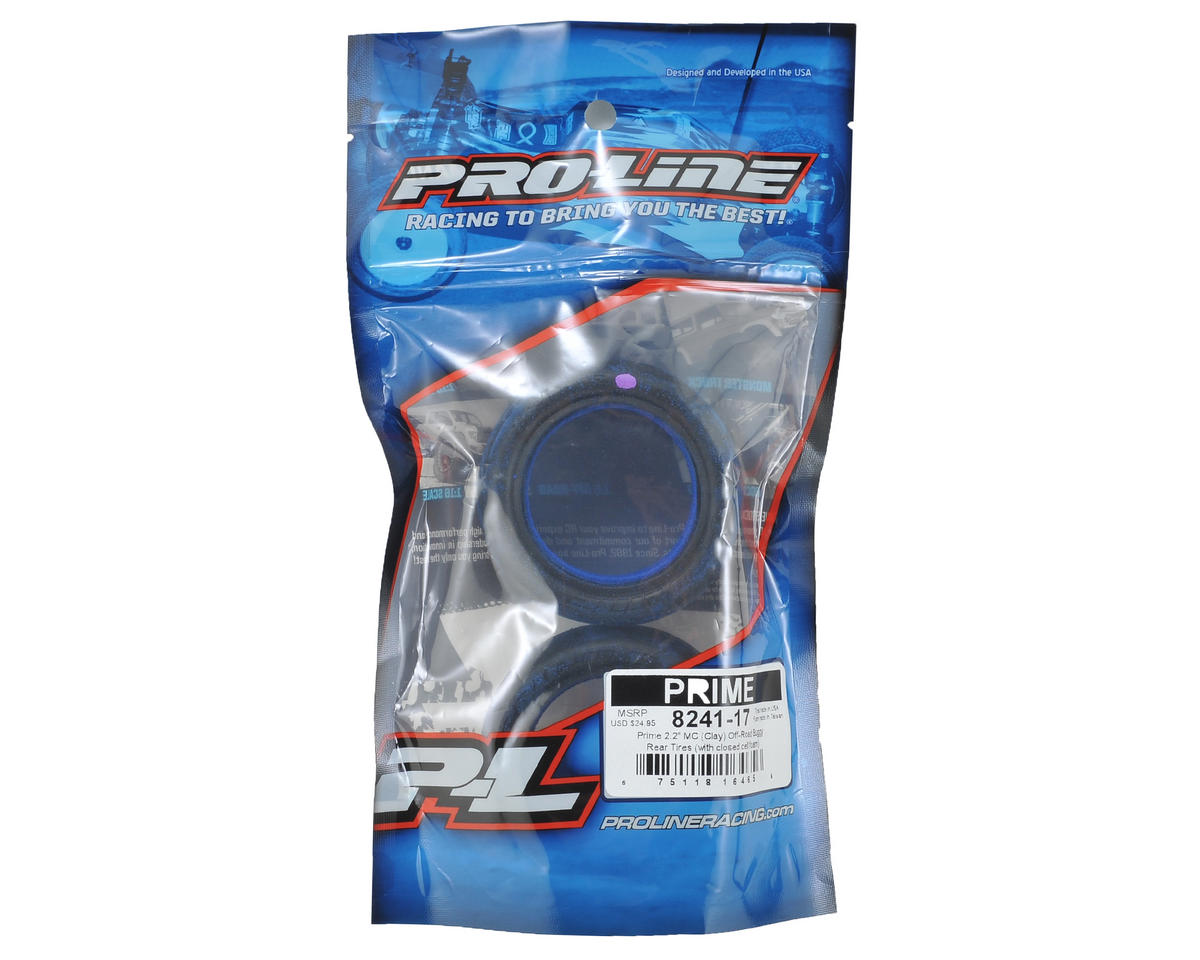 "Pro-Line Prime 2.2"" Rear Buggy Tires (2) (MC)"