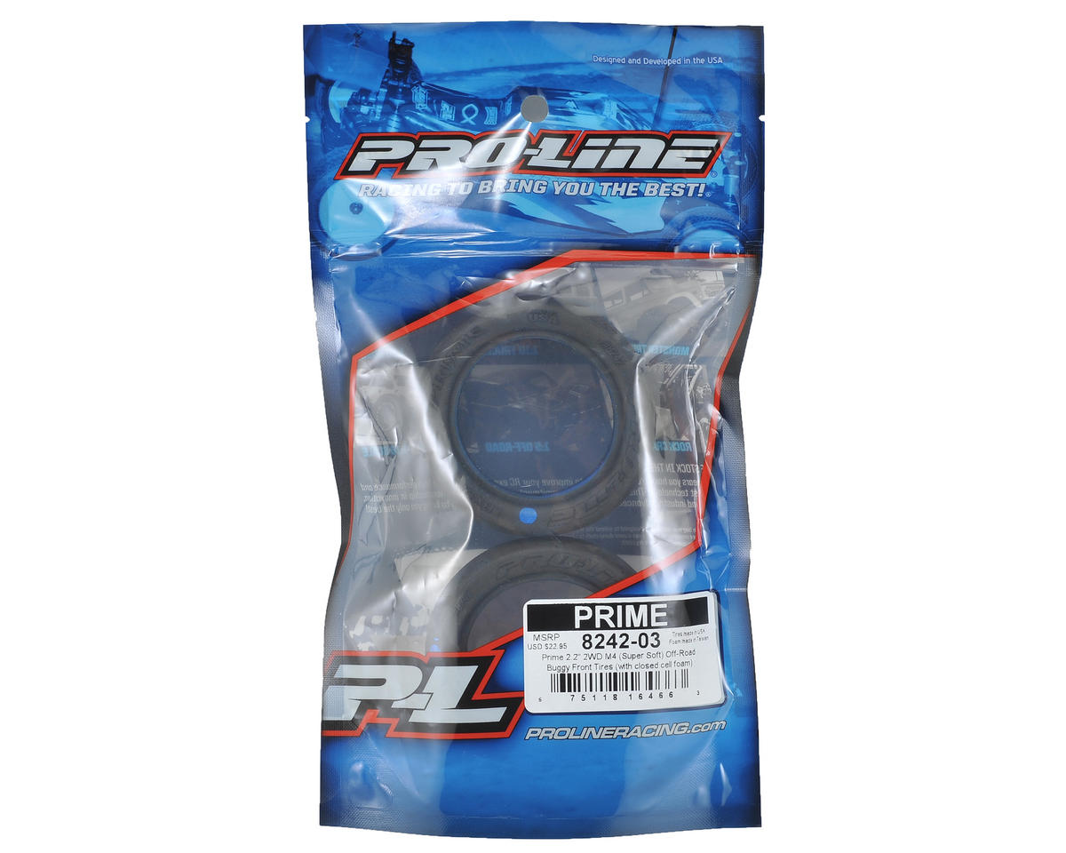 "Pro-Line Prime 2.2"" 2WD Front Buggy Tires (2) (M4)"