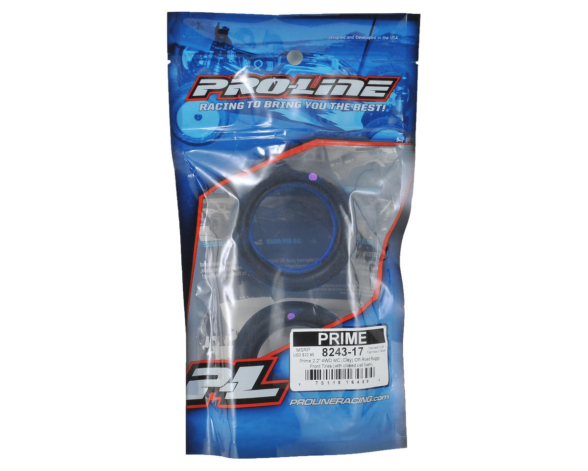 "Pro-Line Prime 2.2"" 4WD Front Buggy Tires (2) (MC)"