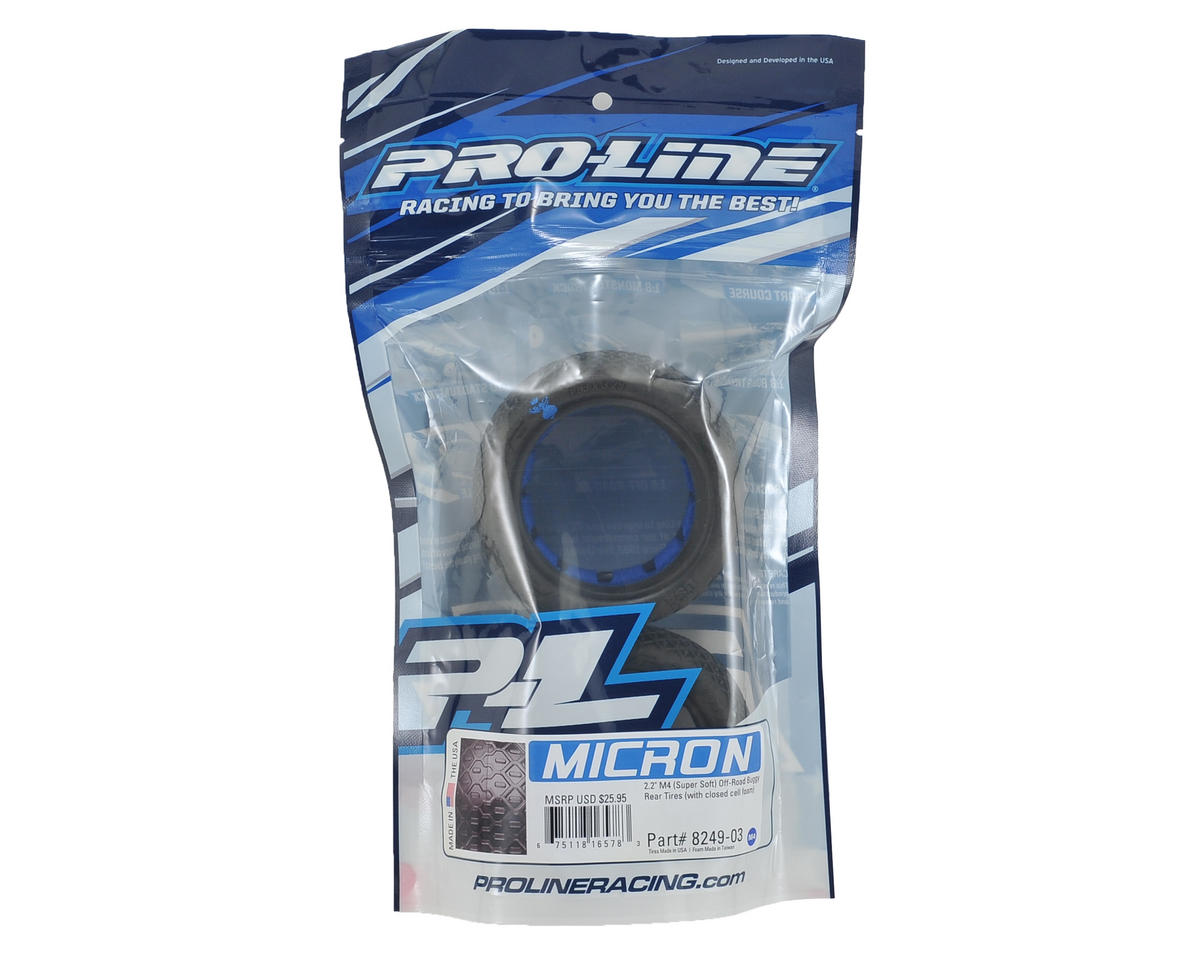 "Pro-Line Micron 2.2"" Rear Buggy Tires (2) (M4)"