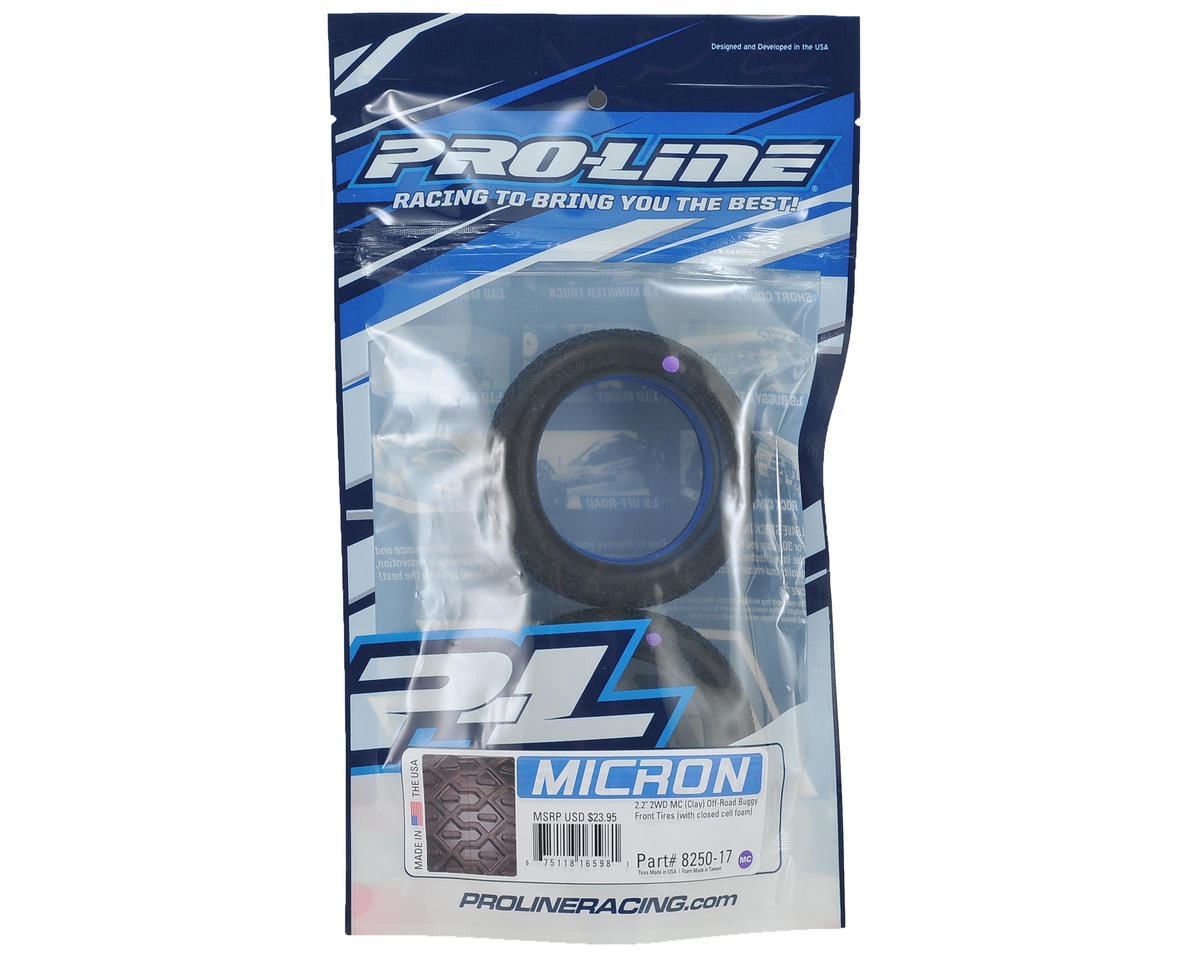 """Pro-Line Micron 2.2"""" 2WD Front Buggy Tires (2) (MC)"""