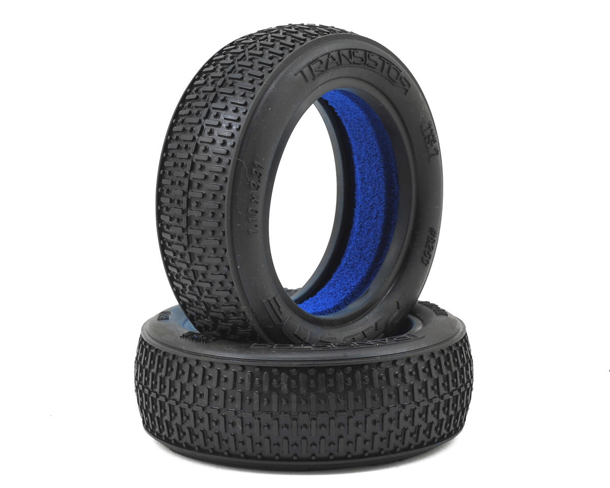 "Pro-Line Transistor 2.2"" 2WD Front Buggy Tires (2) (M4)"