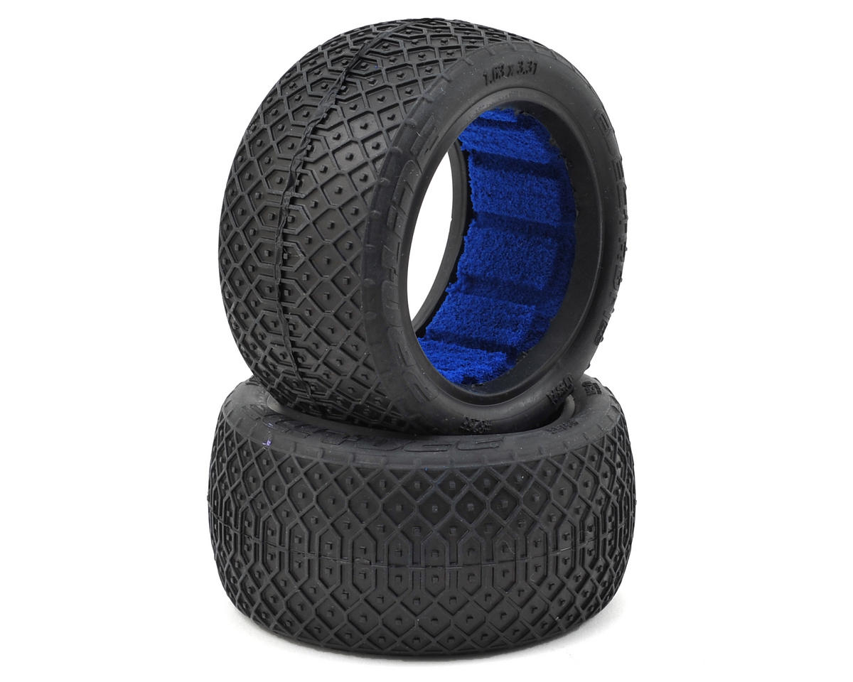 "Electron Lite 2.2"" Rear Buggy Tires (2) (MC) by Pro-Line"