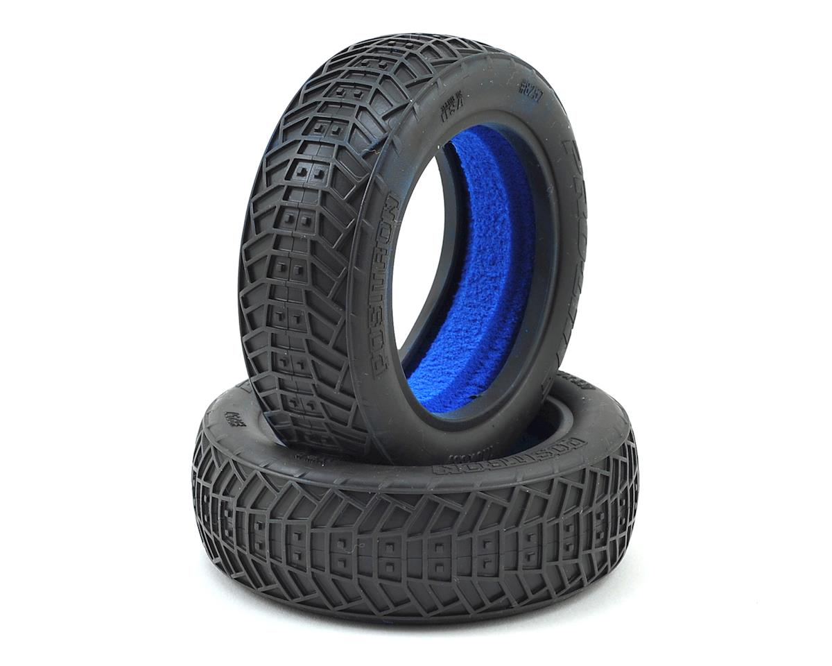 "Positron 2.2"" 2WD Front Buggy Tires (2) (M4) by Pro-Line"