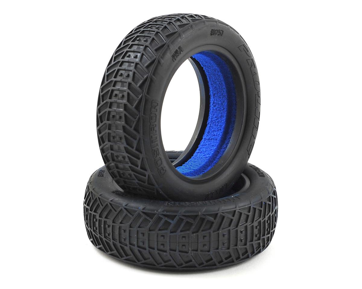 "Positron 2.2"" 2WD Front Buggy Tires (2) (MC) by Pro-Line"
