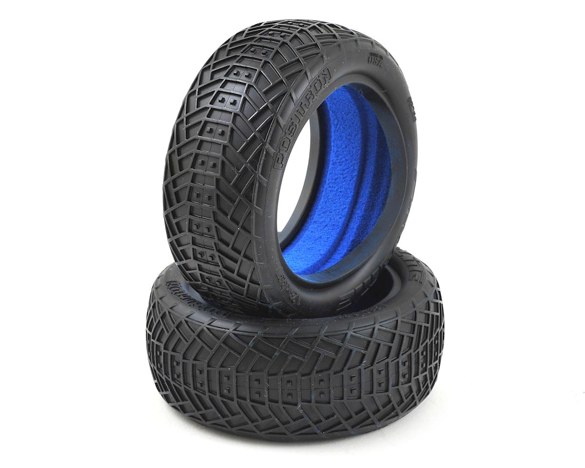 "Positron 2.2"" 4WD Front Buggy Tires (2) (MC) by Pro-Line"