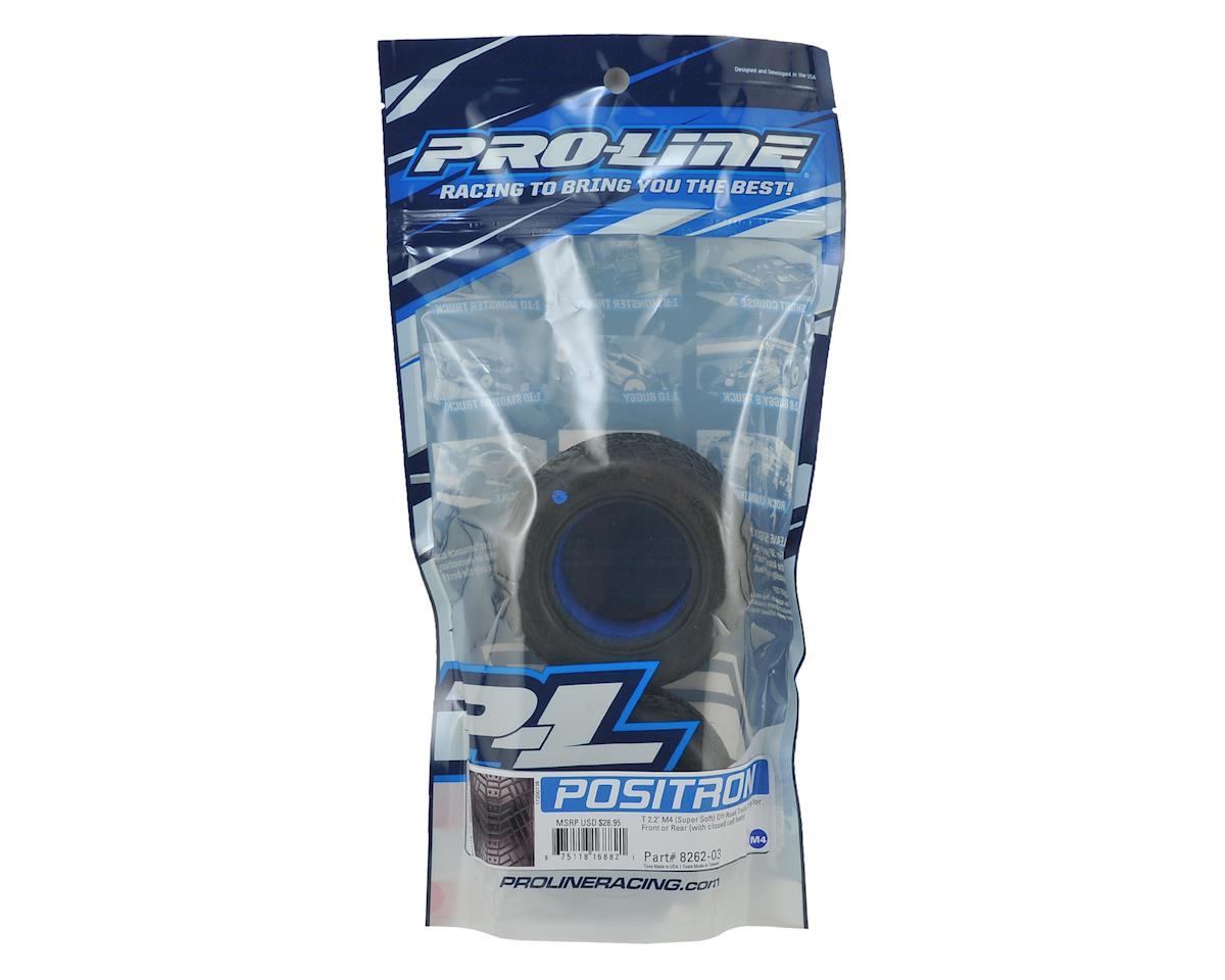 """Pro-Line Positron T 2.2"""" Truck Tires (2) (M4)"""