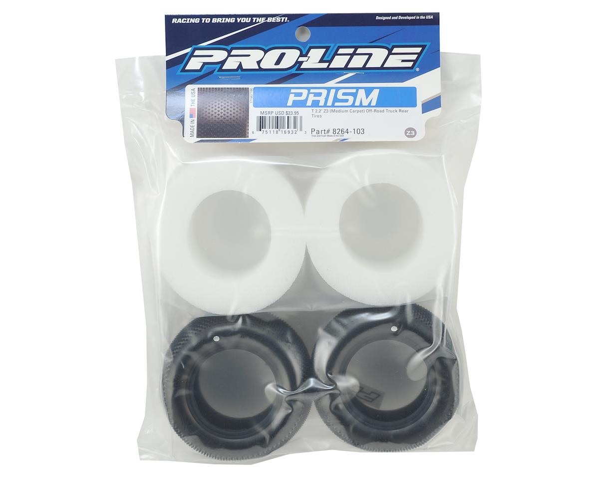 """Pro-Line Prism T Carpet 2.2"""" Truck Tires (2) (Z3)"""