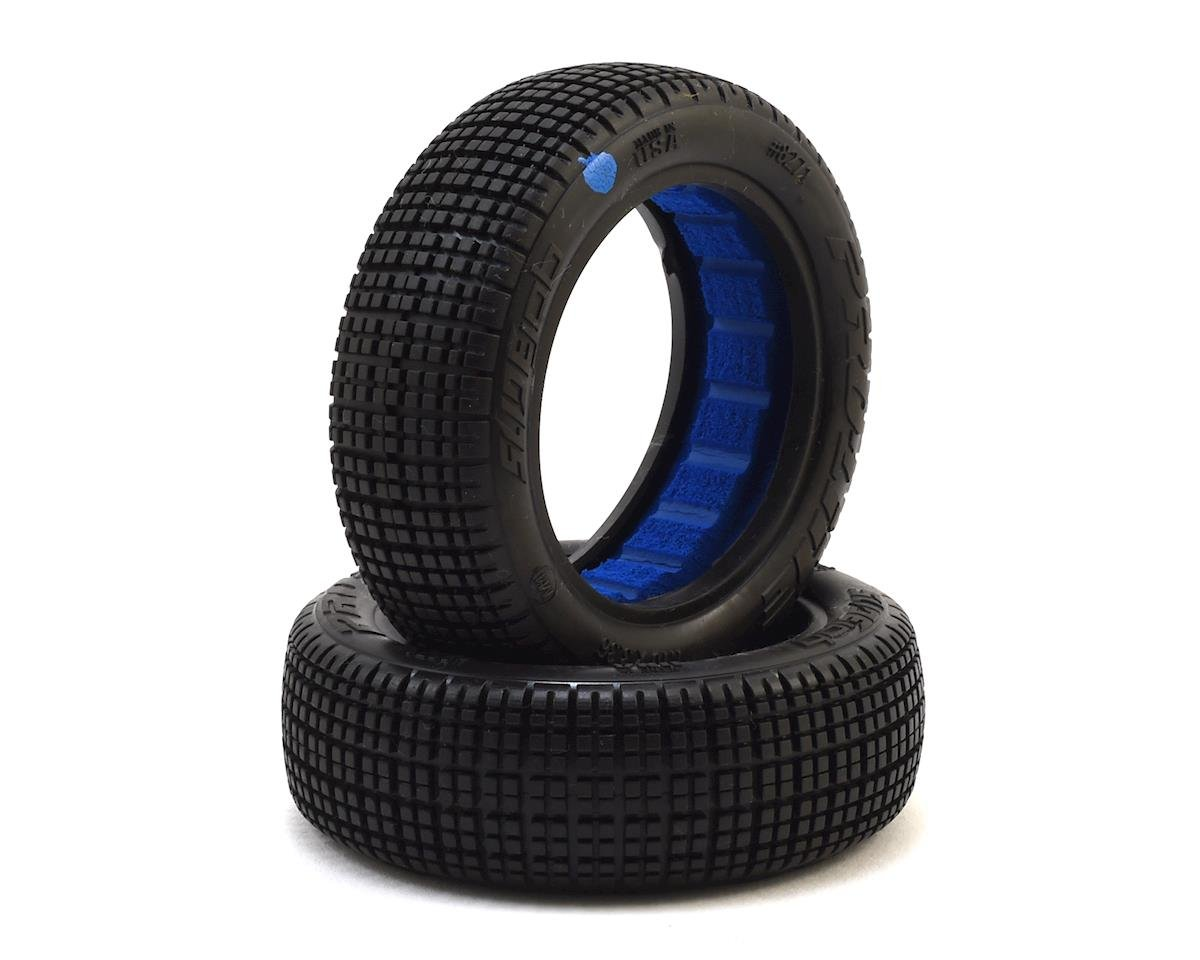 "Slide Job Dirt Oval 2.2"" 2WD Front Buggy Tires (2) (M4) by Pro-Line"