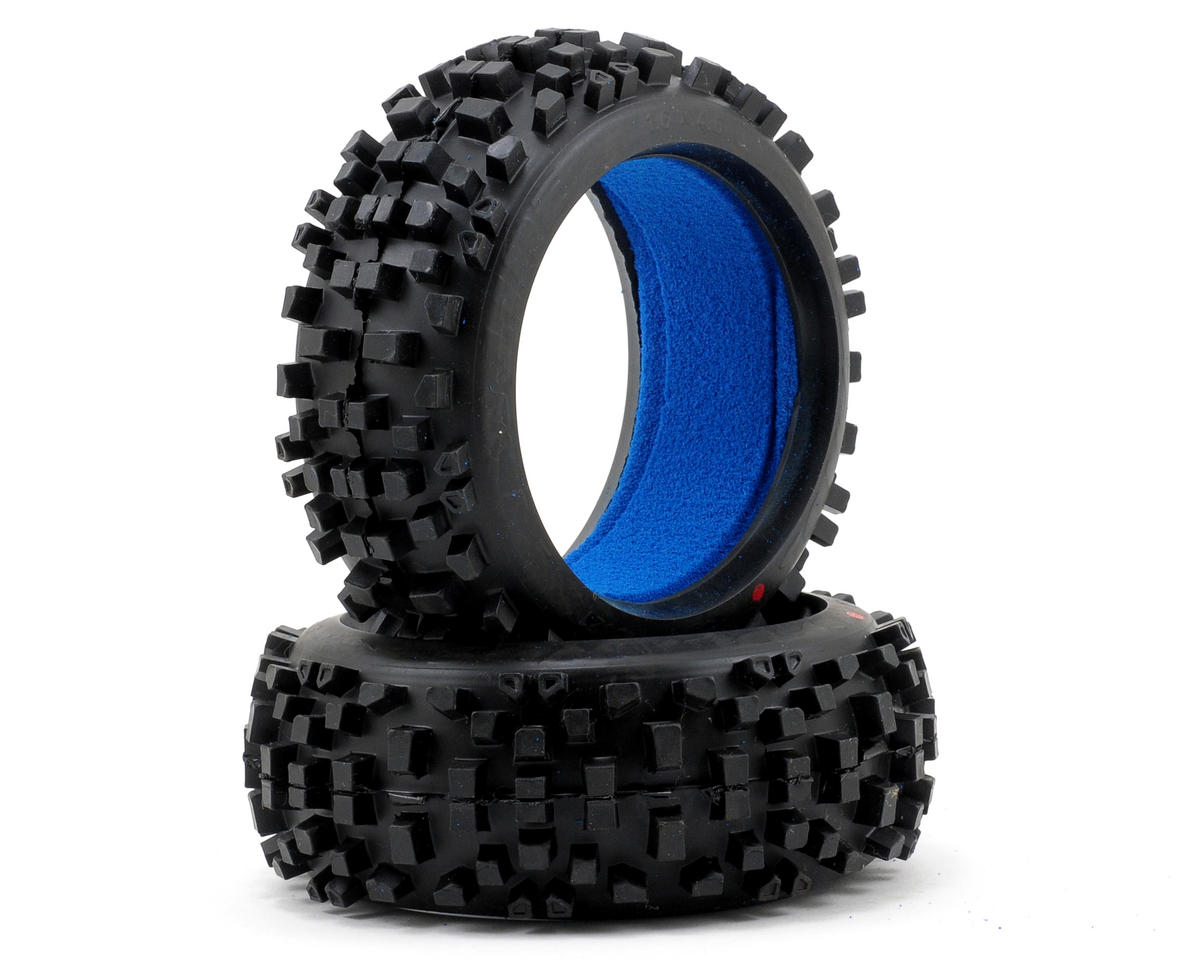 Badlands 1/8 Buggy Tires w/Closed Cell Inserts (2) (XTR) by Pro-Line