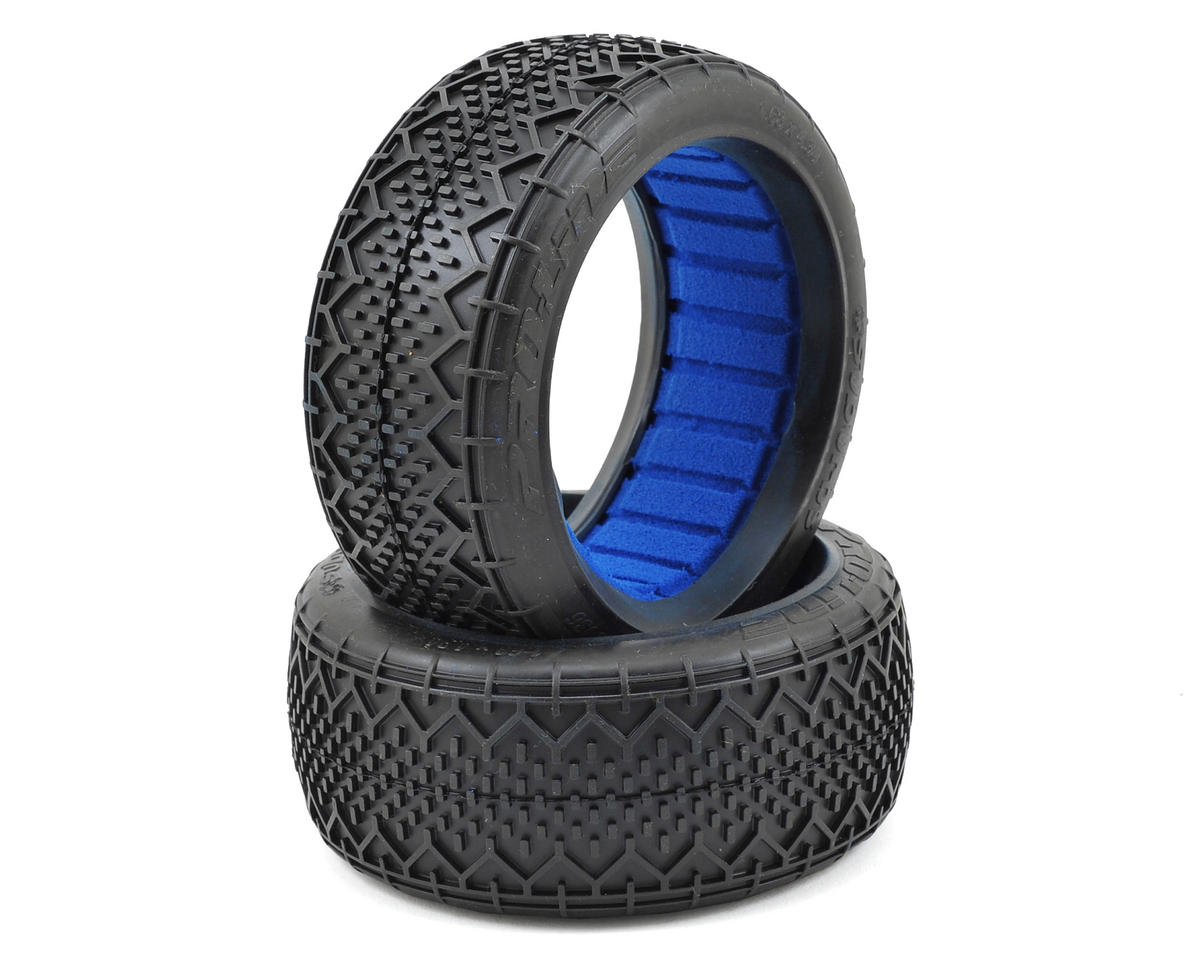 Suburbs 1/8 Buggy Tires w/Closed Cell Inserts (2) (M4) by Pro-Line