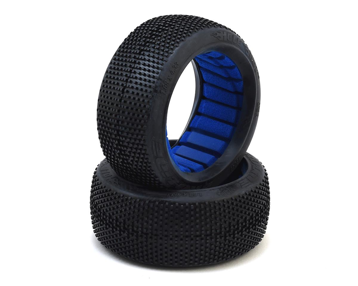 Pro-Line Hole Shot 2.0 8th Scale Buggy Tires with Closed Cell Inserts S3 9041-203