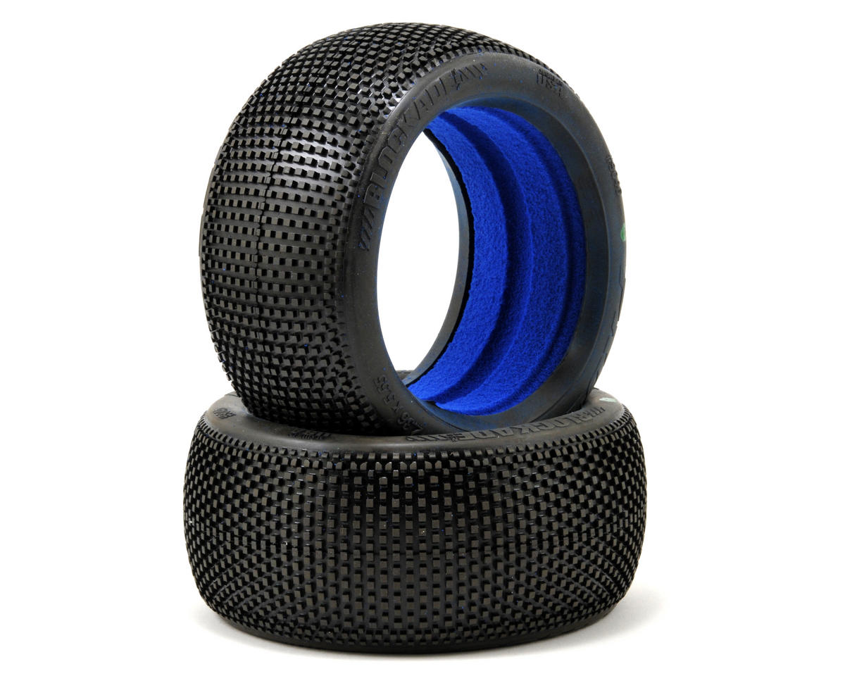 """Pro-Line Blockade VTR 4.0"""" 1/8 Truck Tires w/Foam (2) (M3)"""