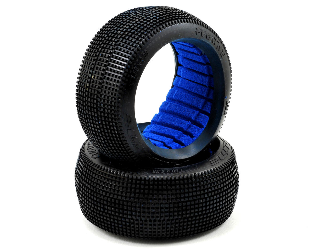 Pro-Line Fugitive 1/8 Buggy Tires w/Closed Cell Inserts (2) (X1)