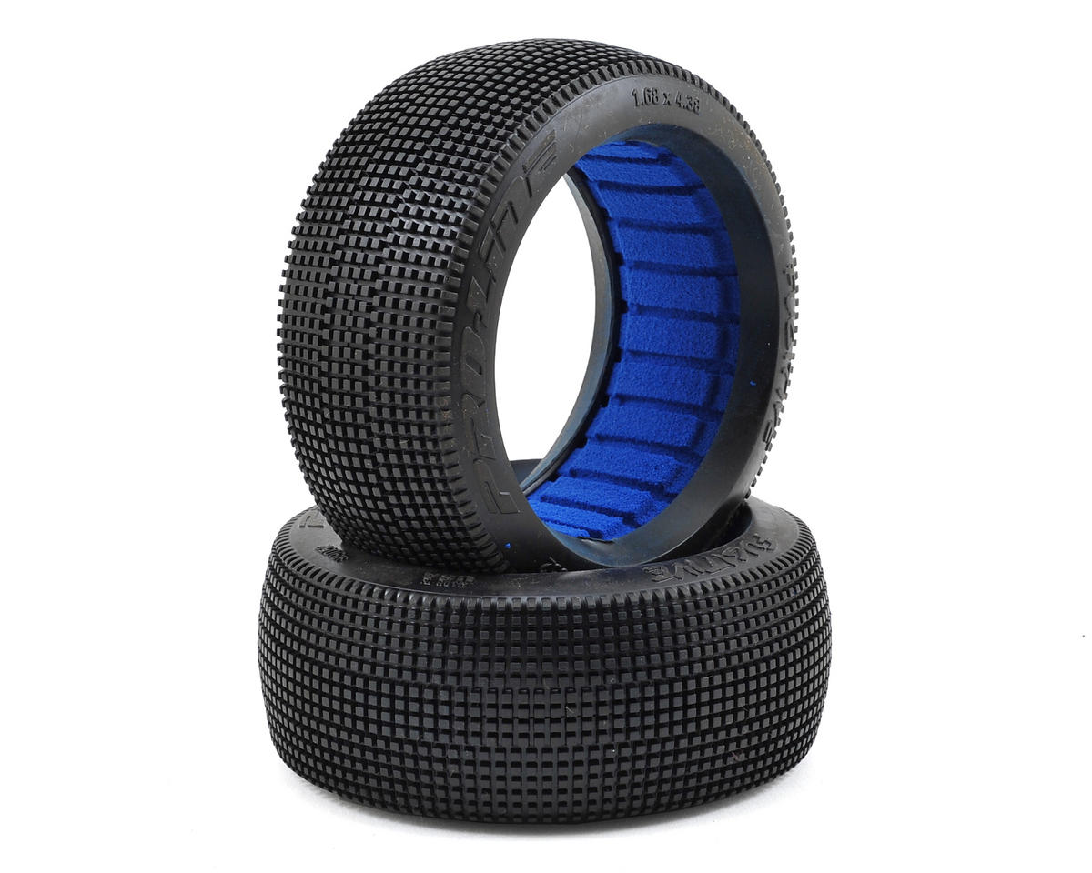Pro-Line Fugitive 1/8 Buggy Tires w/Closed Cell Inserts (2) (M4)