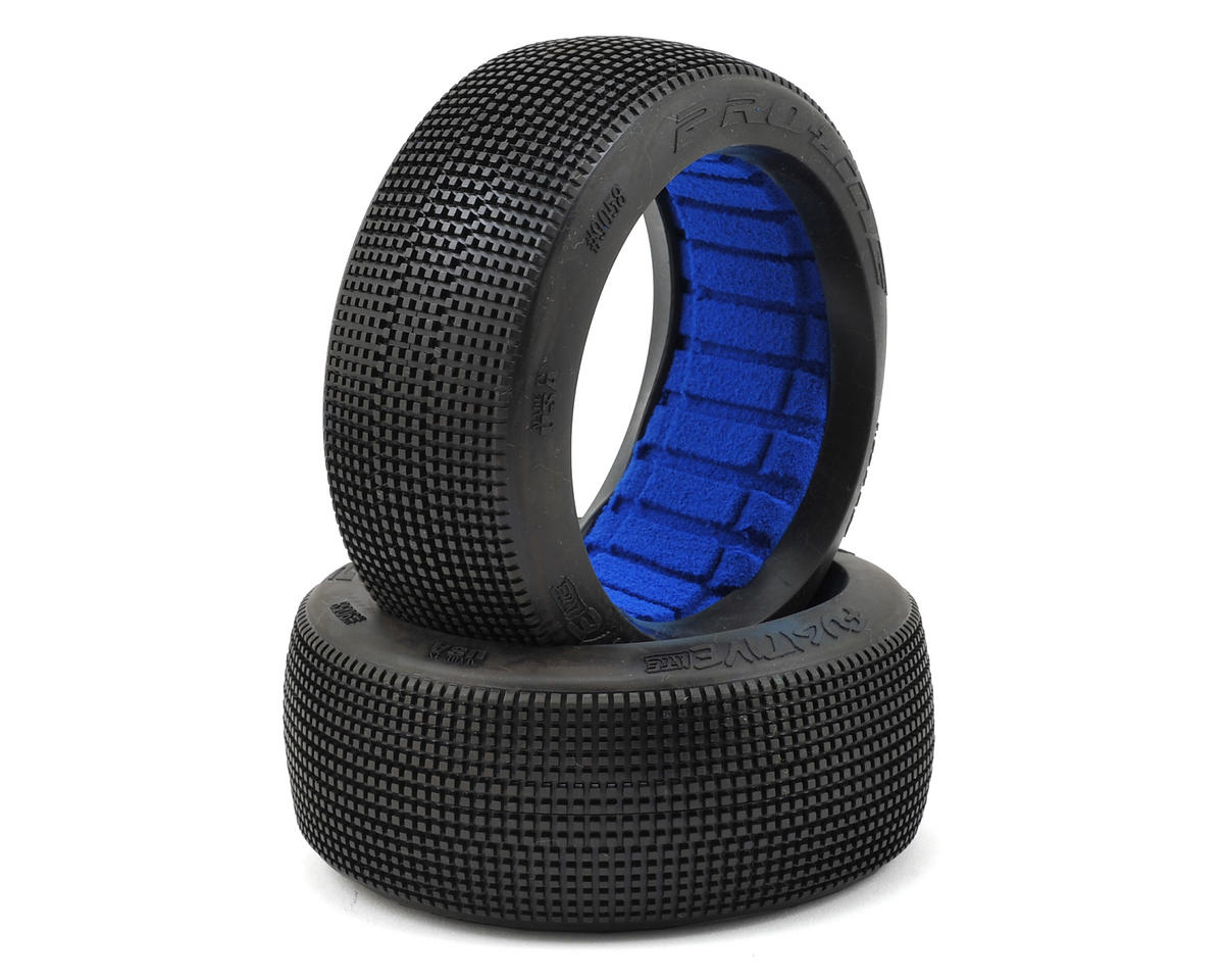 Fugitive Lite 1/8 Buggy Tires w/Closed Cell Inserts (2) (M3) by Pro-Line