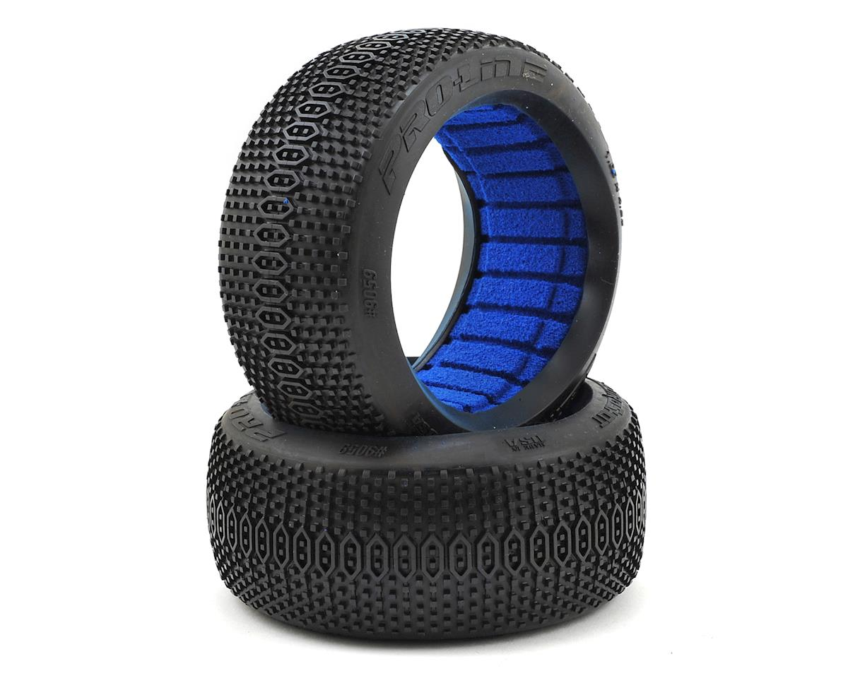 ElectroShot 1/8 Buggy Tires w/Closed Cell Inserts (2) (M3) by Pro-Line