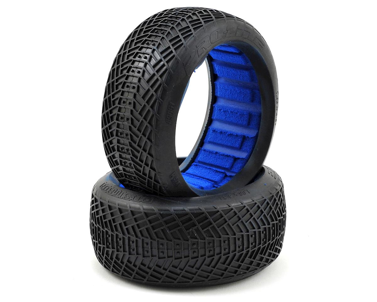 Positron 1/8 Buggy Tires w/Closed Cell Inserts (2) (MC) by Pro-Line