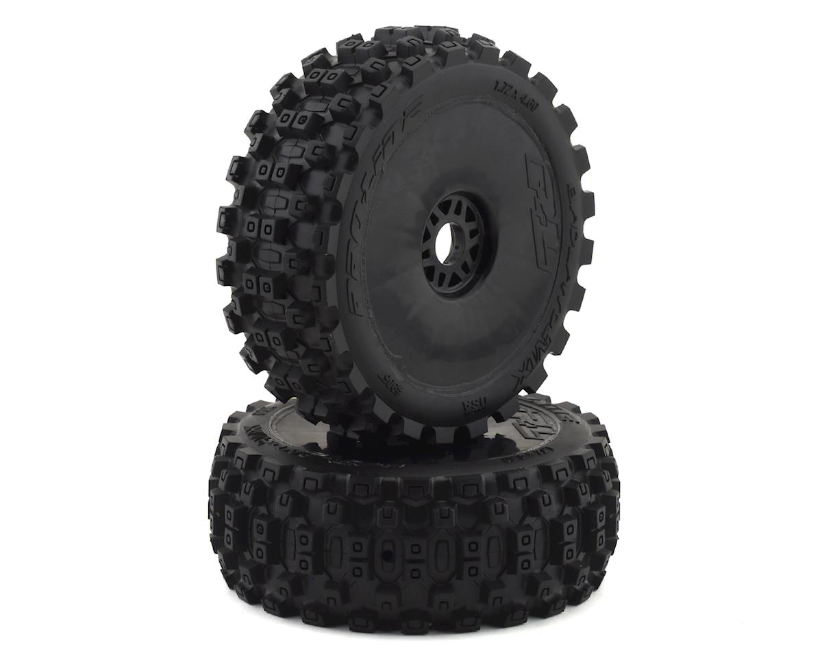 Pro-Line Badlands MX Pre-Mounted 1/8 Buggy Tires (Black) (2) (M2)