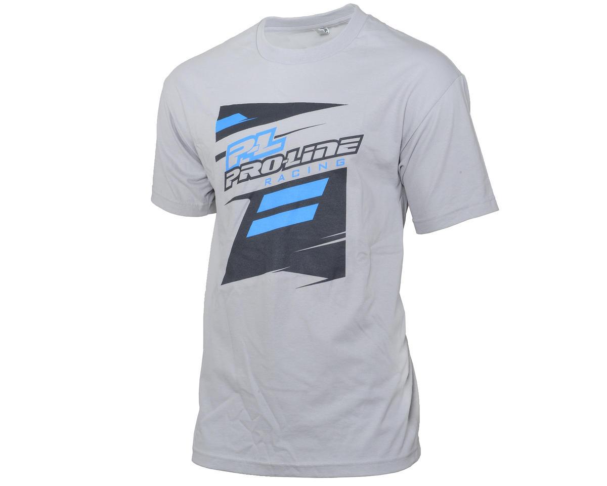 Pro-Line PL Race Tone Silver T-Shirt (2XL)