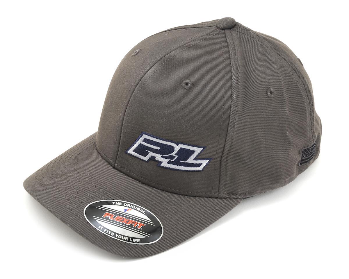 Pro-Line Flexfit Hat (Gray) (S/M)