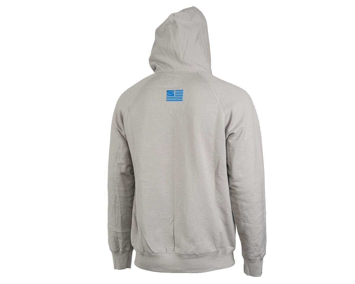 Pro-Line Factory Team Zip-Up Hoodie (Gray) (L)