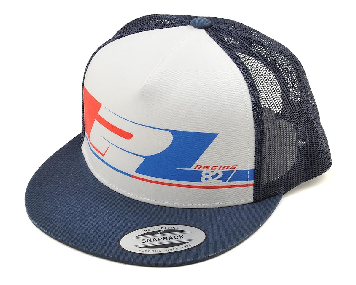 Pro-Line 82 Snap Back Trucker Hat (White)