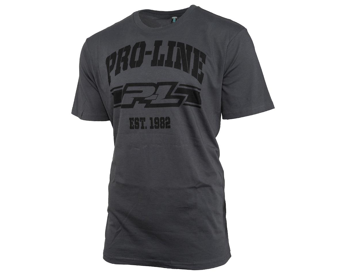 Pro-Line Established T-Shirt (Gray) (XL)