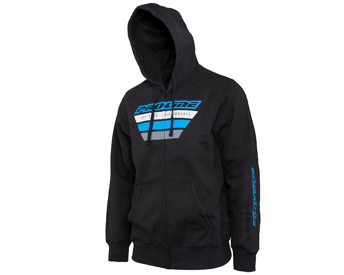Pro-Line OP Zip-Up Hoodie (Black) (2XL)