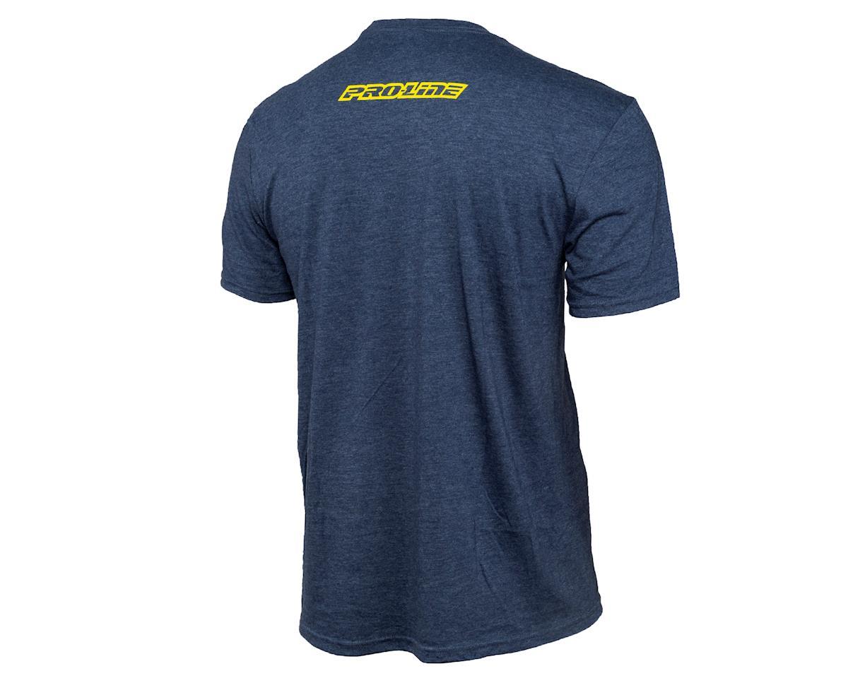 Pro-Line Linear Navy Blue Short Sleeve T-Shirt (XL)