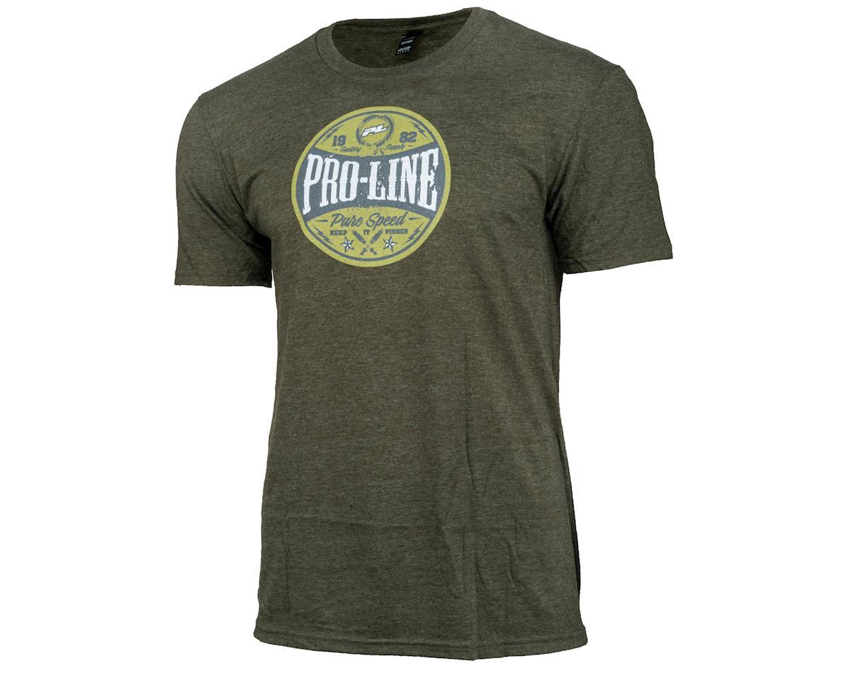 Pro-Line Hot Rod Green T-Shirt (L)