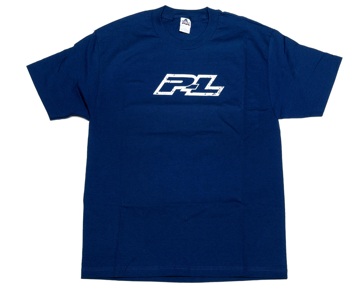 Pro-Line Stamped Blue T-Shirt (Small)