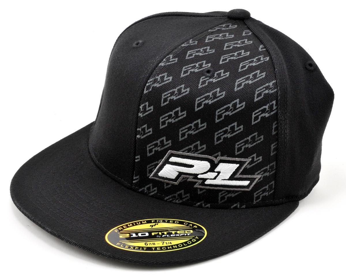 "Pro-Line ""Icon"" Flat Bill Flexfit Hat (Black)"
