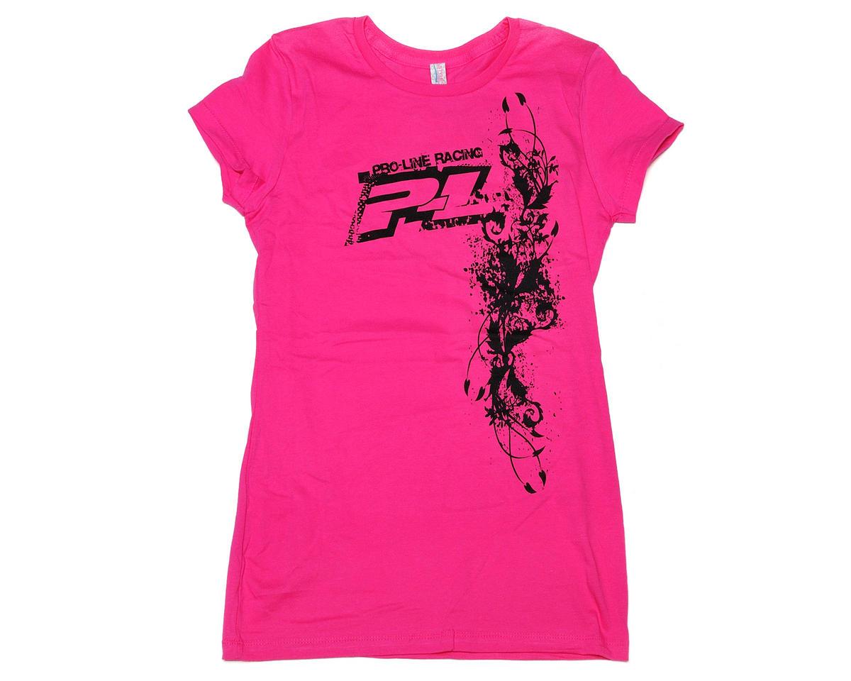 Pro-Line Pink Urban Girls T-Shirt (Large)