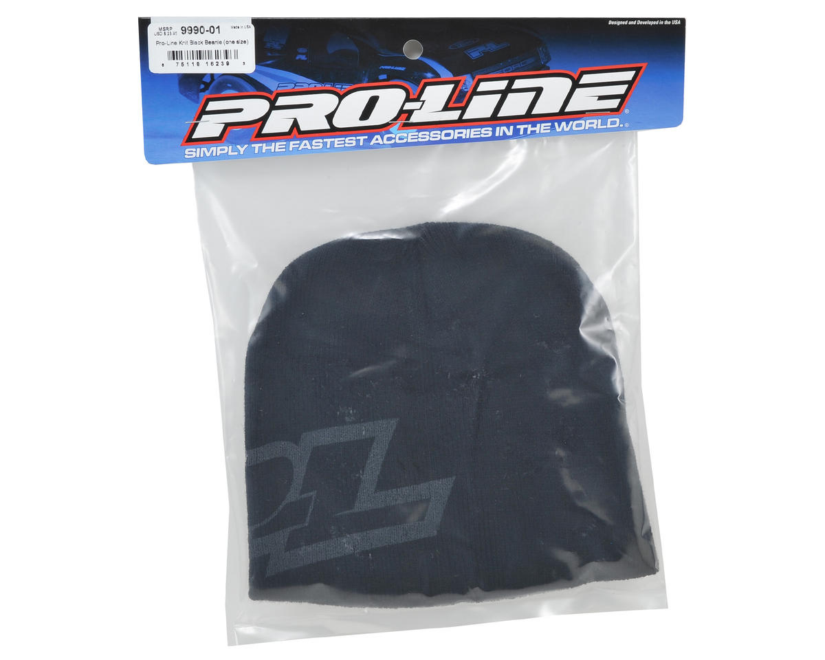 Pro-Line Knit Beanie (Black)