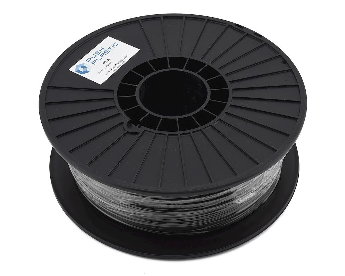 Push Plastic 1.75mm PLA 3D Printer Filament (Black) (1.0kg)