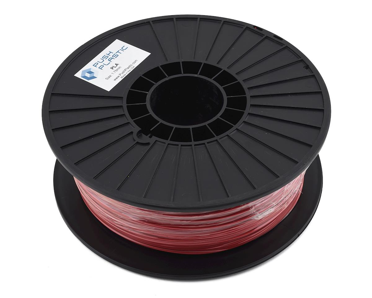 Push Plastic 1.75mm PLA 3D Printer Filament (Red) (1.0kg)