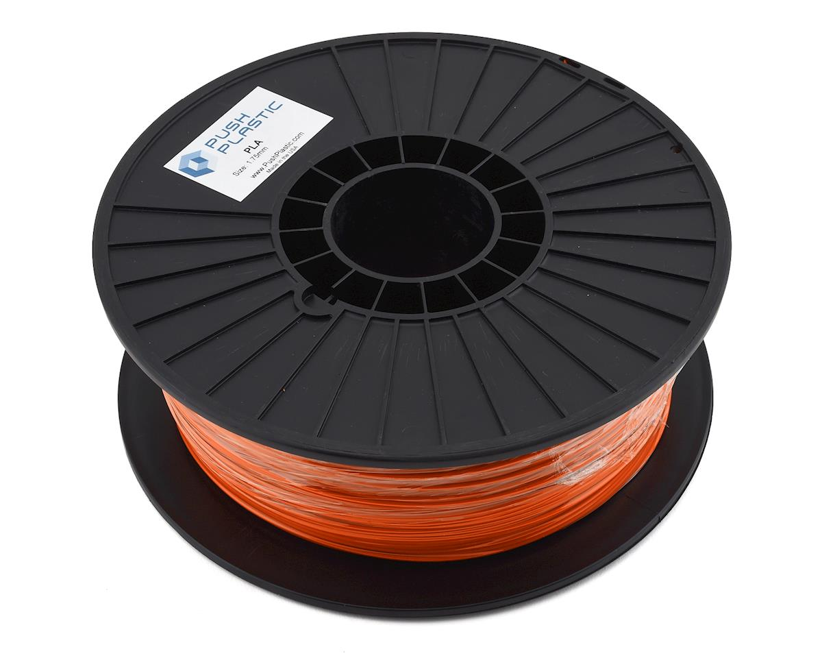 Push Plastic PLA 3D Printer Filament (Orange)