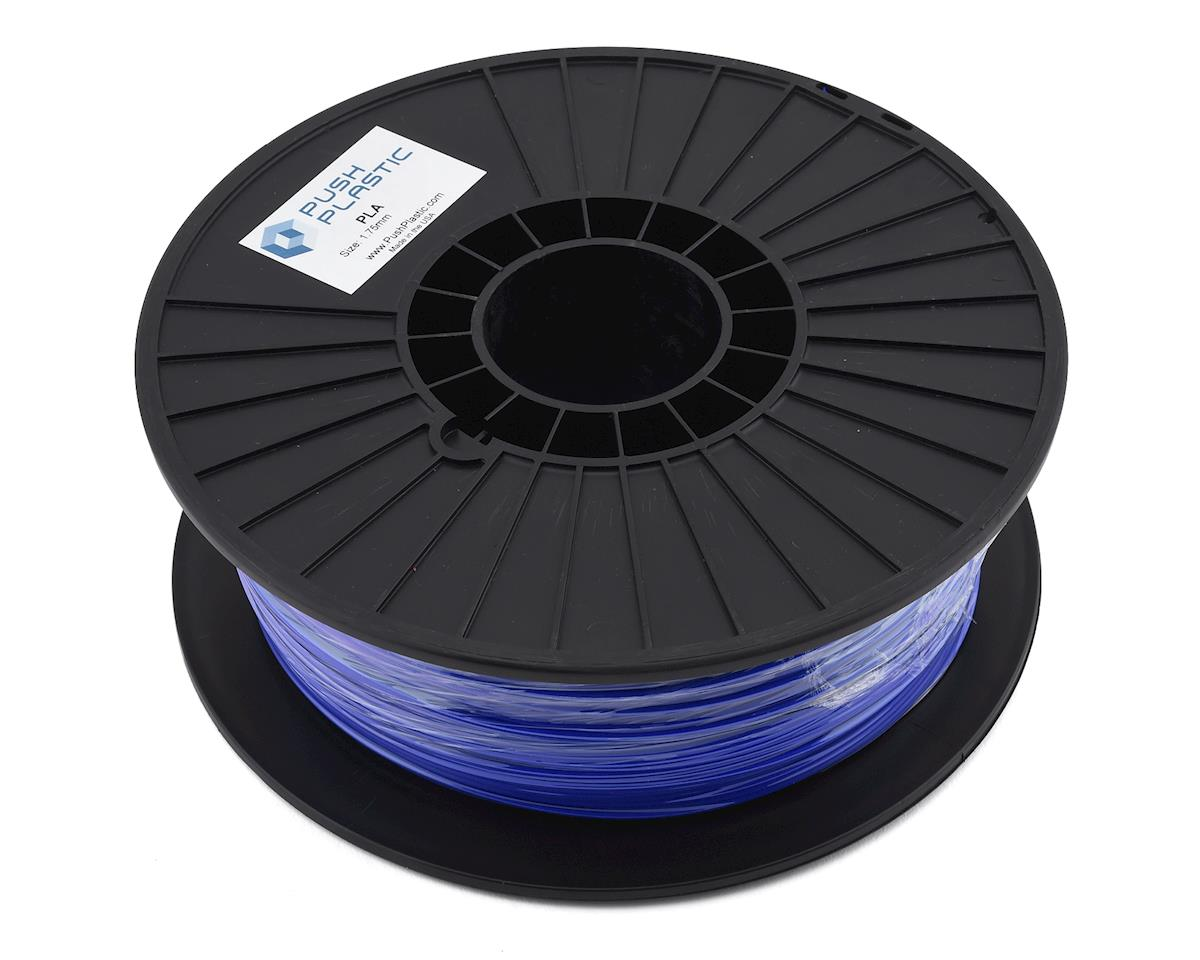 Push Plastic 1.75mm PLA 3D Printer Filament (Ultra Blue) (1.0kg)