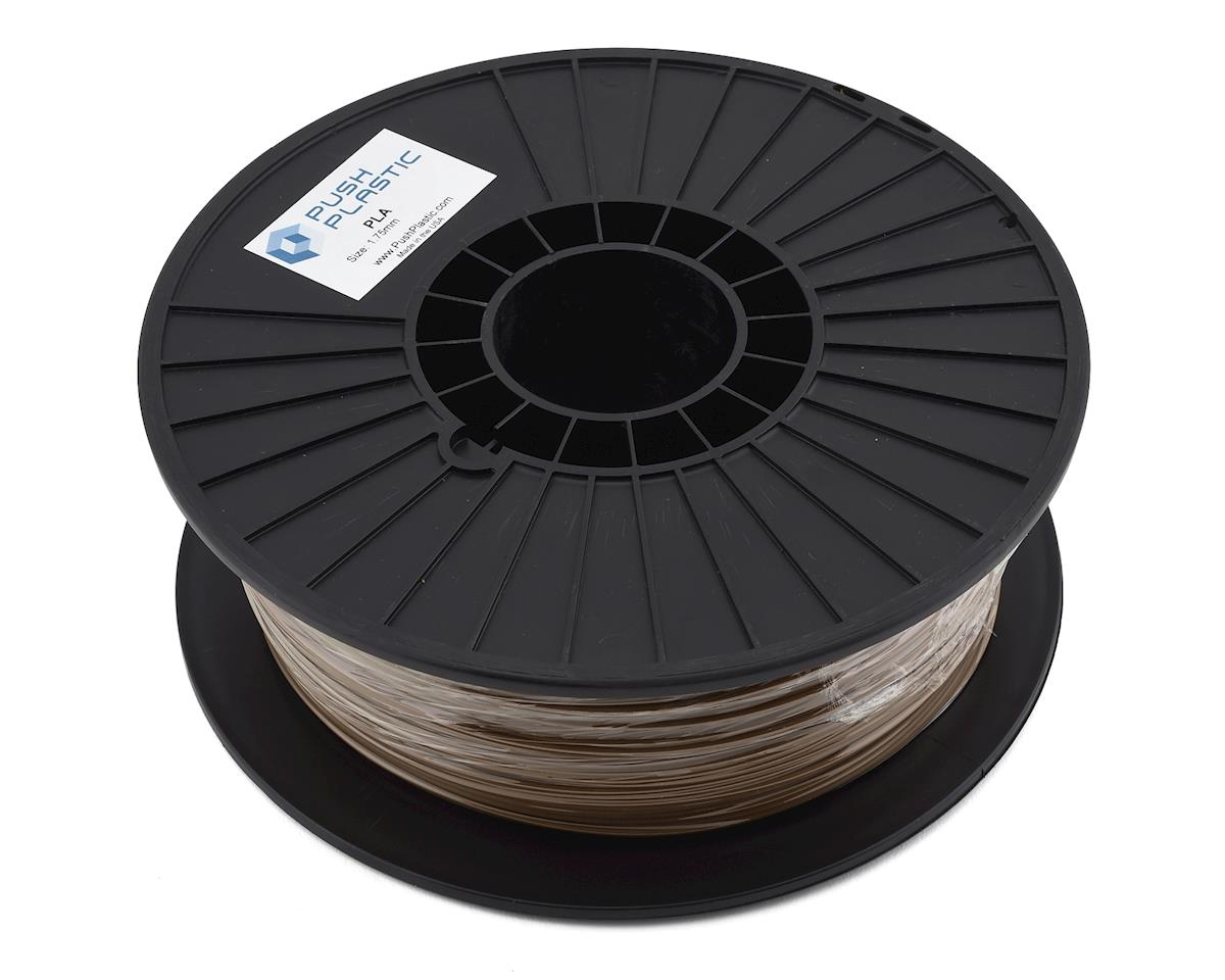 Push Plastic PLA 3D Printer Filament (Brown)