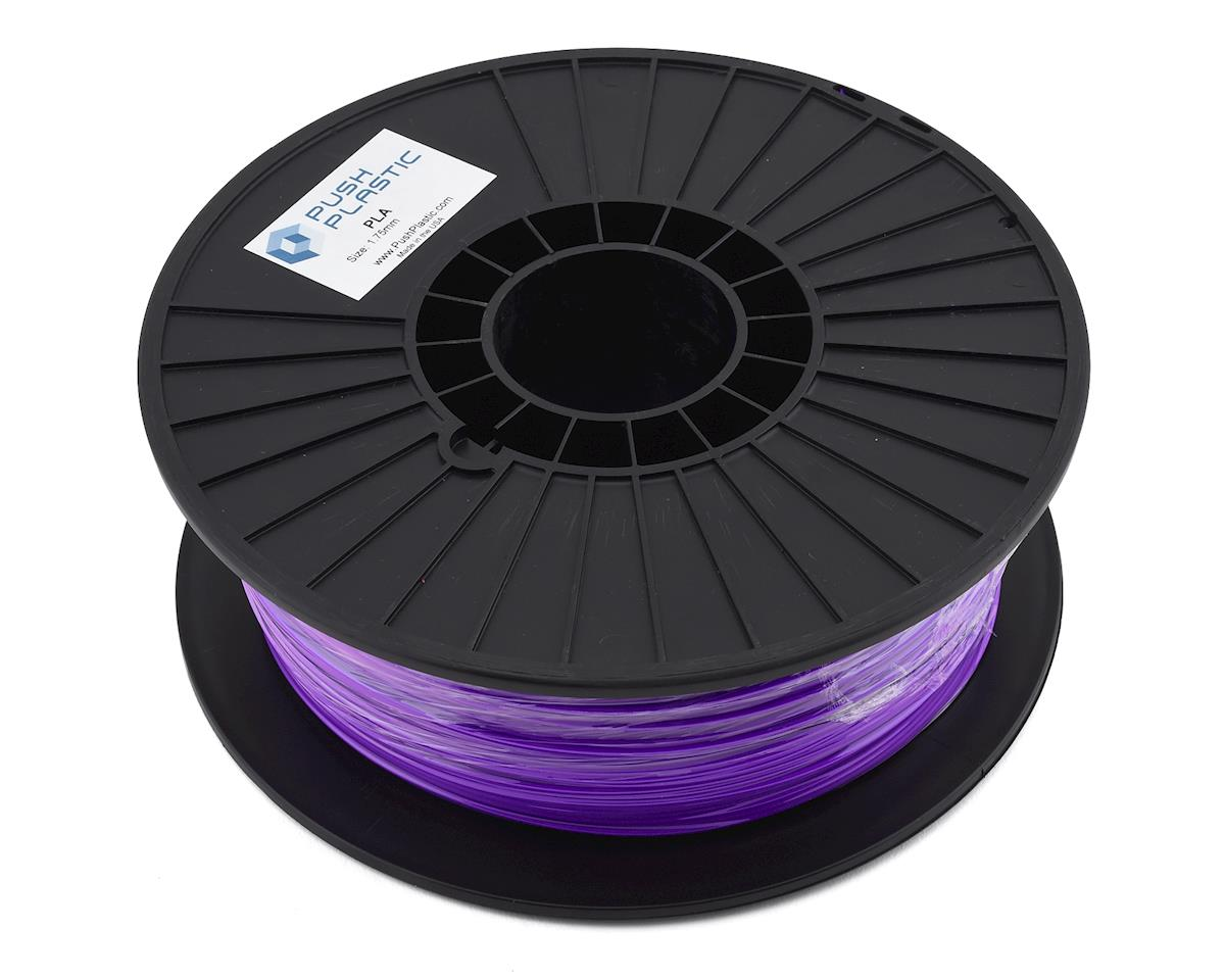 Push Plastic 1.75mm PLA 3D Printer Filament (Purple) (1.0kg)