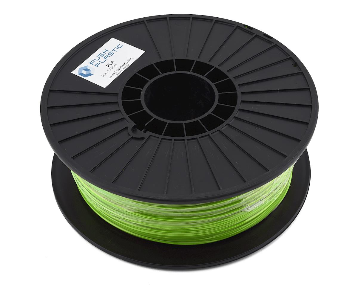 Push Plastic 1.75mm PLA 3D Printer Filament (Lime Green) (1.0kg)