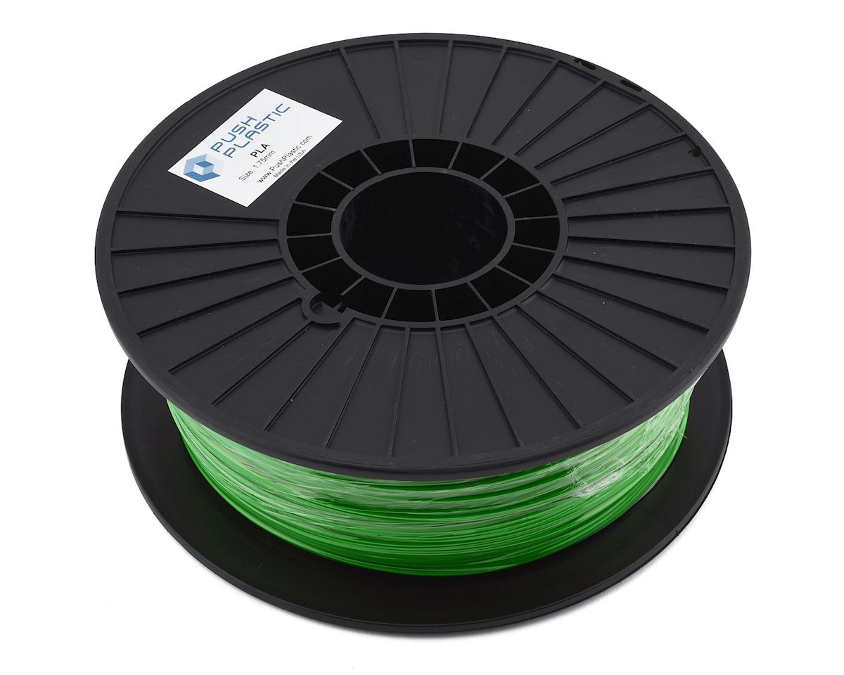 Push Plastic 1.75mm PLA 3D Printer Filament (Green) (1.0kg)