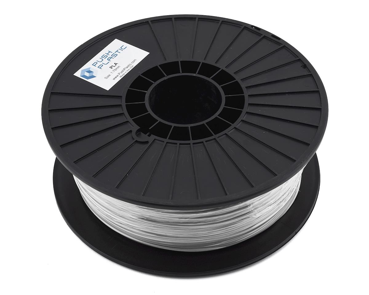 Push Plastic 1.75mm PLA 3D Printer Filament (Silver Metallic) (1.0kg)