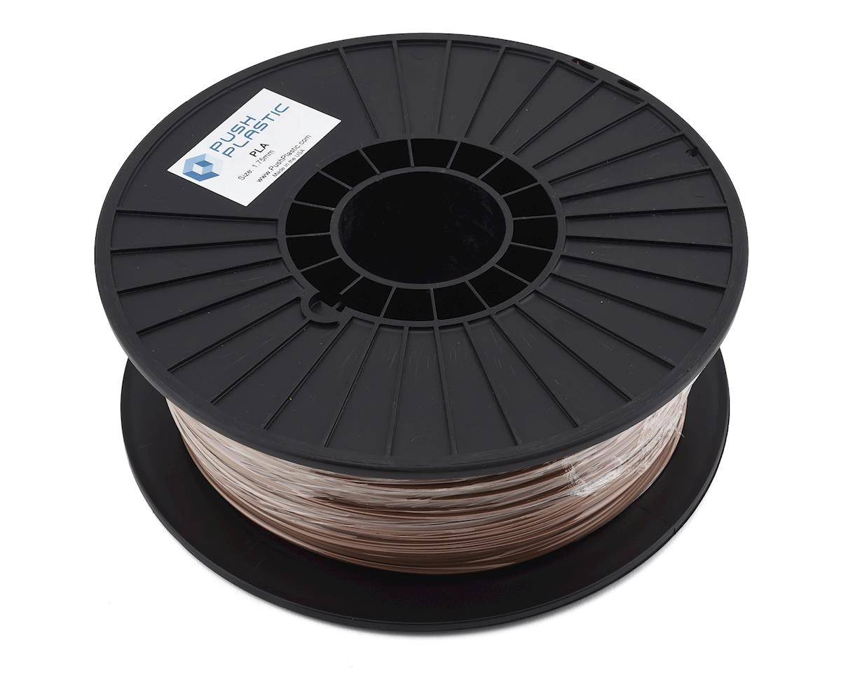 Push Plastic 1.75mm PLA 3D Printer Filament (Bronze Metallic) (1.0kg)