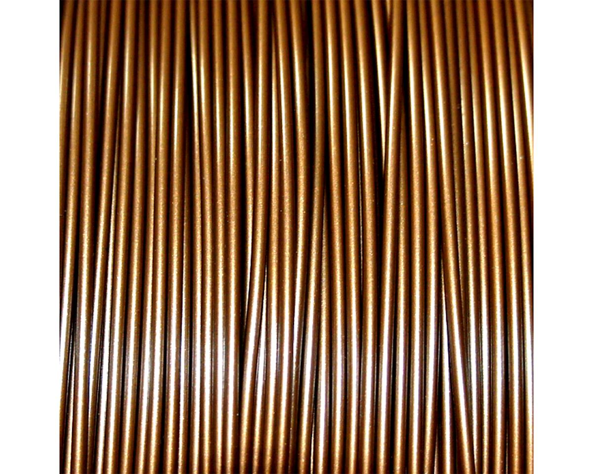 Push Plastic 1.75mm PLA 3D Printer Filament (Bronze Metallic) (1.0kg)