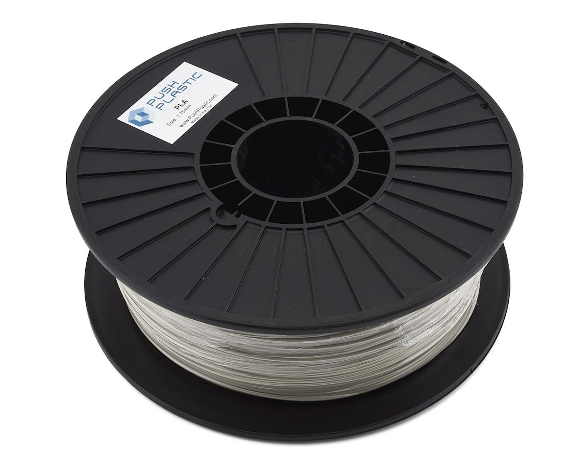 Push Plastic PLA 3D Printer Filament (Natural)