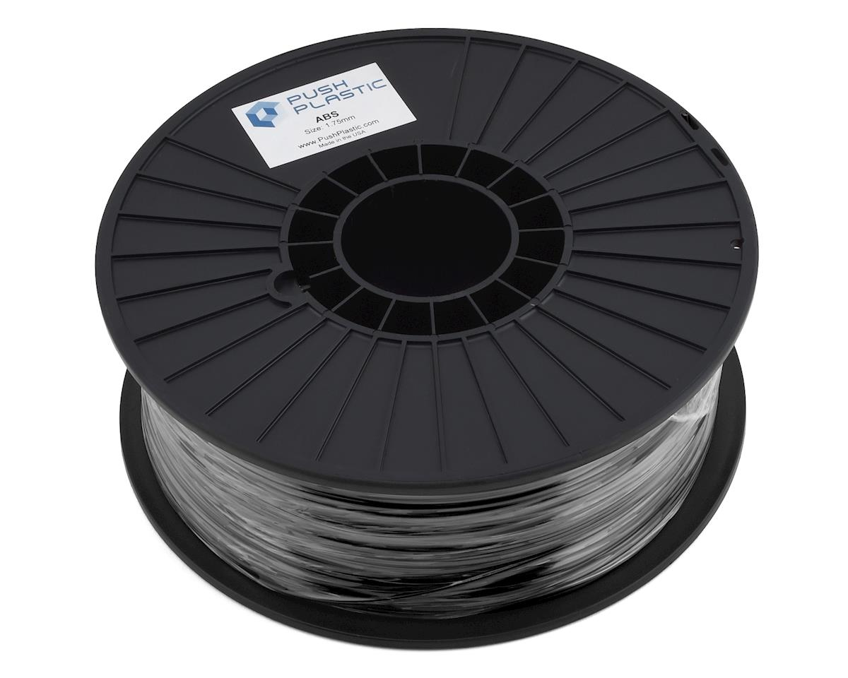 Push Plastic ABS 3D Printer Filament (Black)