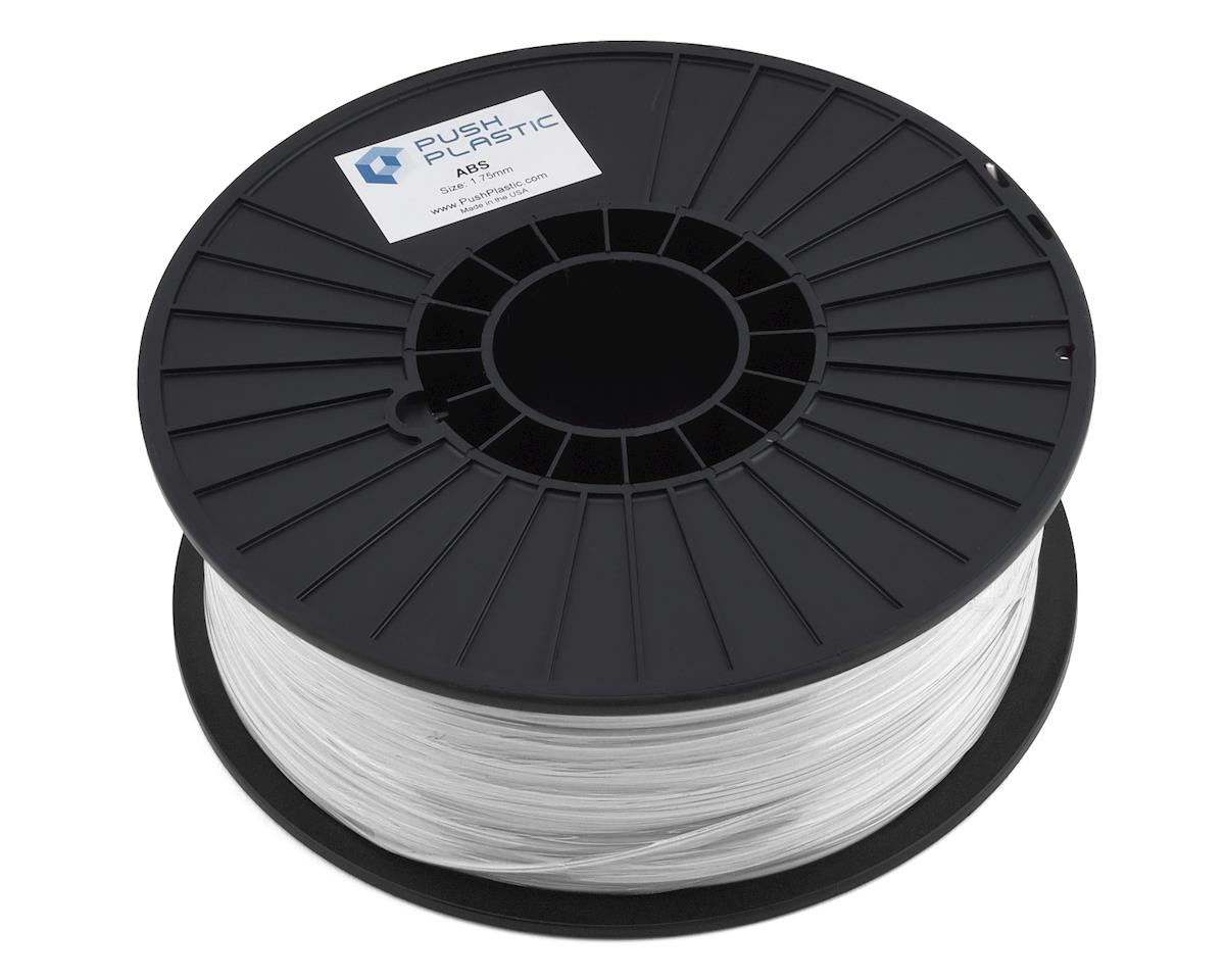 Push Plastic ABS 3D Printer Filament (White)